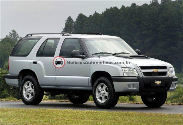 chevrolet blazer 2009 1 Chevrolet S10 2009 e Blazer 2009: a partir de 46.990 reais