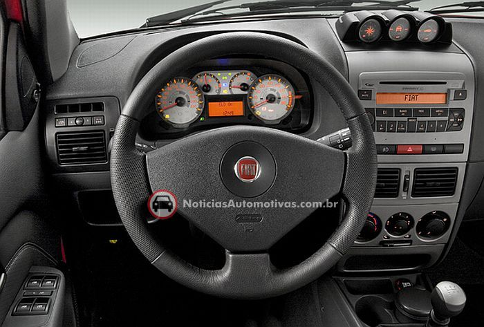 fiat palio weekend adventure 2009 5 Fiat Palio Weekend 2009: a partir de 39.920 reais