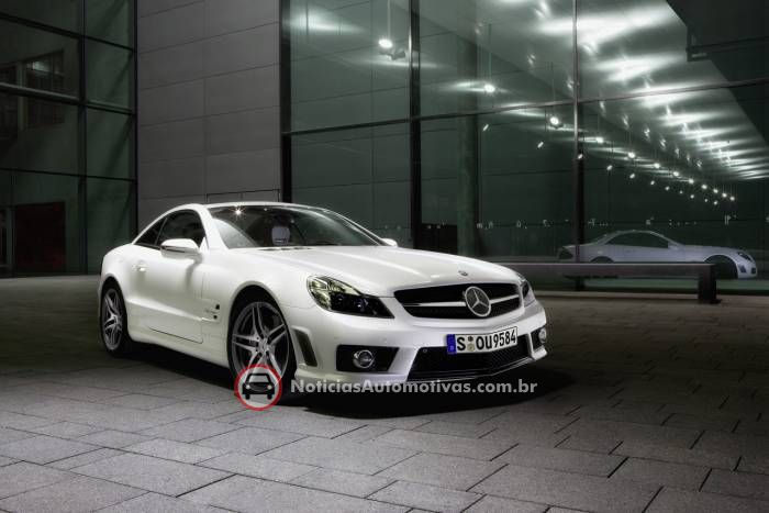 mercedes benz sl63 amg edition iwc 1 Mercedes Benz SL 63 AMG Edition IWC