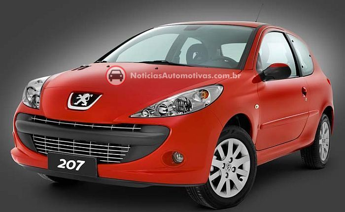 peugeot 207 brasil 1 Peugeot 207 Brasil: primeiras fotos