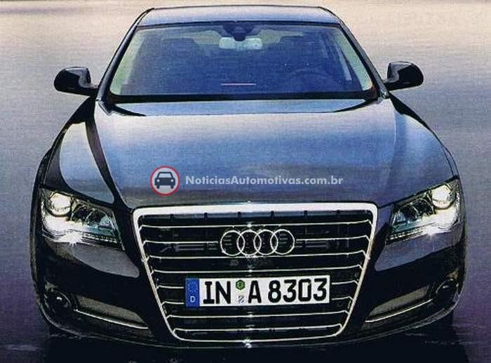 audi-a8-2010-possivel-1 Fotos revelam o renovado Audi A8 2010?