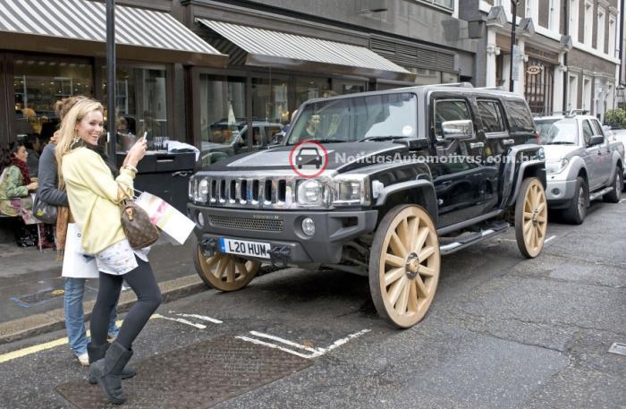 hummer-h3-art-rodas-madeira-carroca-londres-1 HUMMER com rodas de carroça?