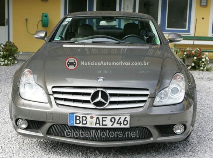 mercedes-benz-classe-cls-2011-flagra-mula-testes-1 Segredo: mula de testes do Mercedes-Benz CLS 2011 é flagrada