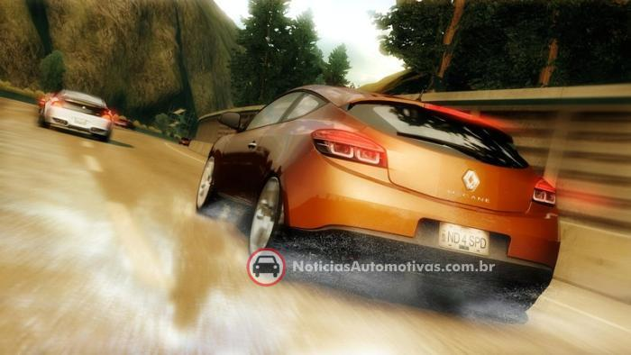 renault-megane-coupe-need-for-speed-undercover-1 Trailer do jogo Need for Speed Undercover mostra o novo Renault Megane Coupe