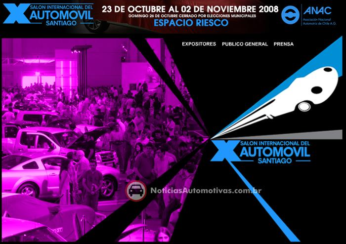salon-internacional-automovil-santiago-2008 Teremos cobertura exclusiva do Salon Internacional del Automovil 2008, em Santiago