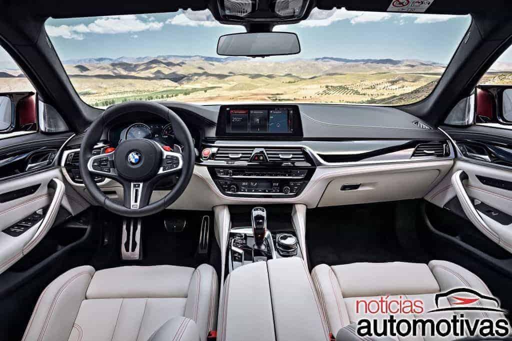 BMW M5 2019 estreia em pré-venda por R$ 695 mil