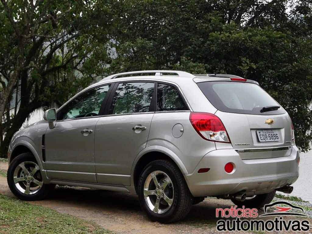Chevrolet Captiva (anos, versões, modelos, motores, consumo)