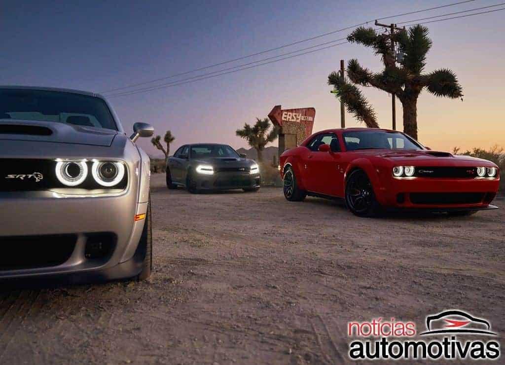 Dodge Challenger 2019 estreia com SRT Hellcat especial de 808 cv