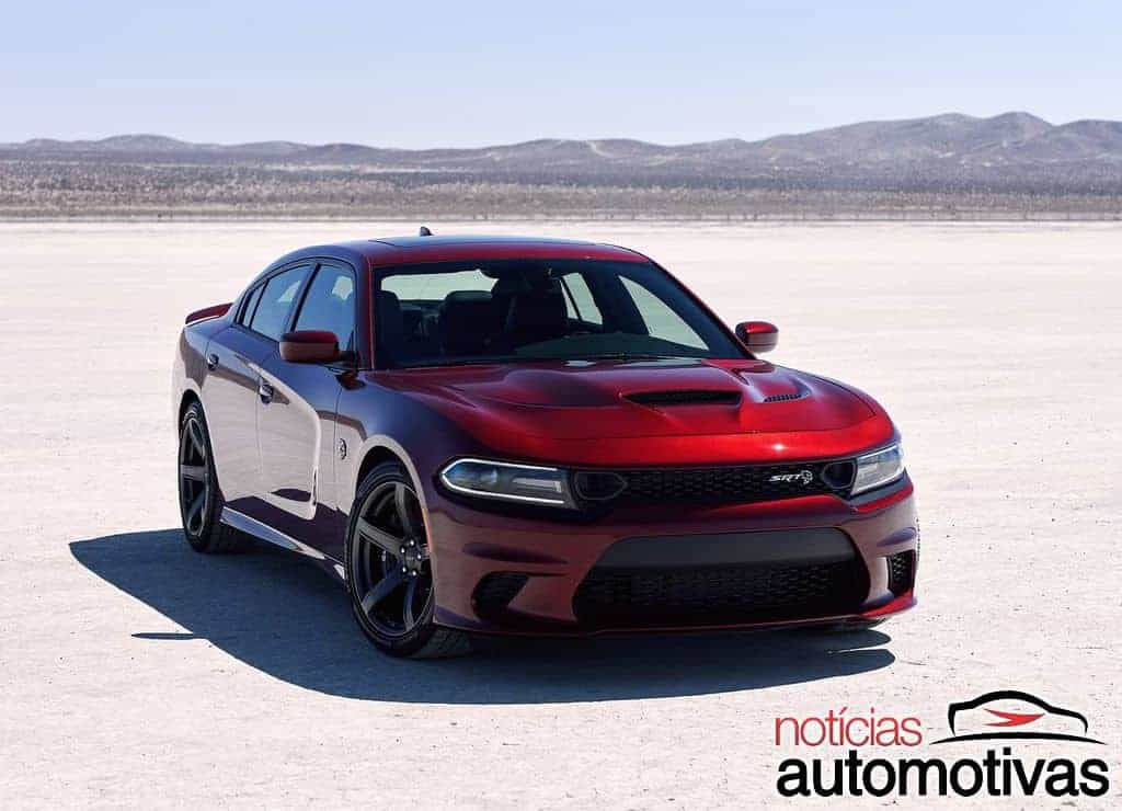 Sedã mais potente do mundo, Dodge Charger 2019 traz novos recursos