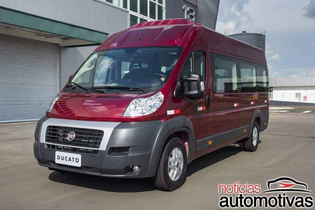 fiat ducato 2019 estreia com visual desatualizado pre o r. Black Bedroom Furniture Sets. Home Design Ideas