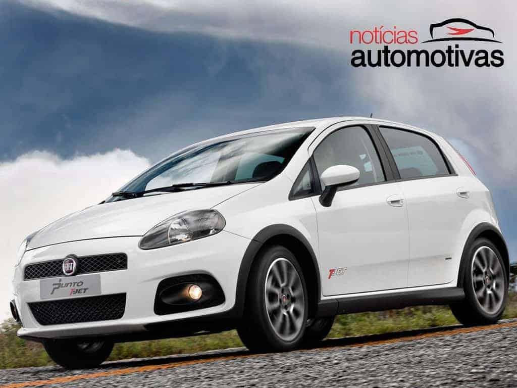 Fiat Punto T-JET: anos, motor, versões e motorização (detalhes)