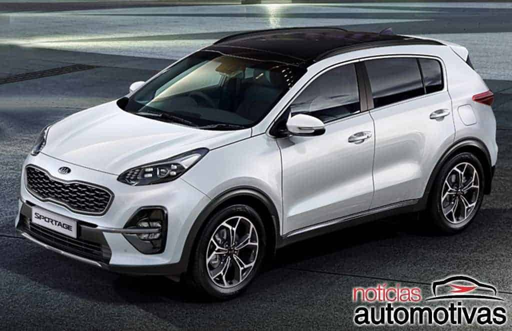 kia sportage 2019 detalhes fotos vers es motor pre os. Black Bedroom Furniture Sets. Home Design Ideas