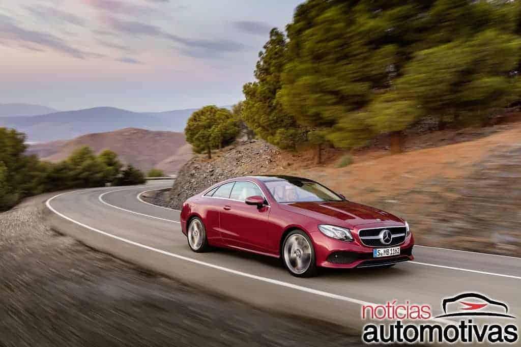 Mercedes-Benz E 300 Coupé 2018 chega ao Brasil com preço de R$ 390,9 mil