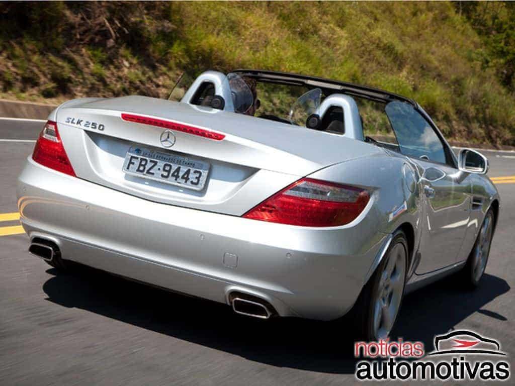 Mercedes-Benz SLK: motores, desempenho, equipamentos (e detalhes)