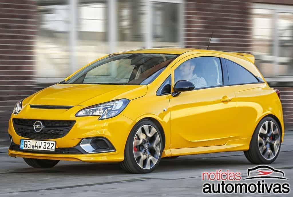 Opel Corsa GSi 2018 estreia com motor 1.4 turbo de 152 cv