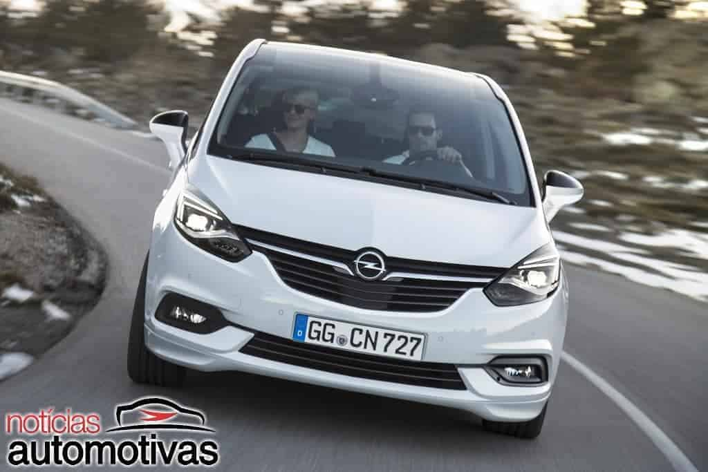 opel zafira tourer 2017 estreia retoque no visual novos equipamentos. Black Bedroom Furniture Sets. Home Design Ideas