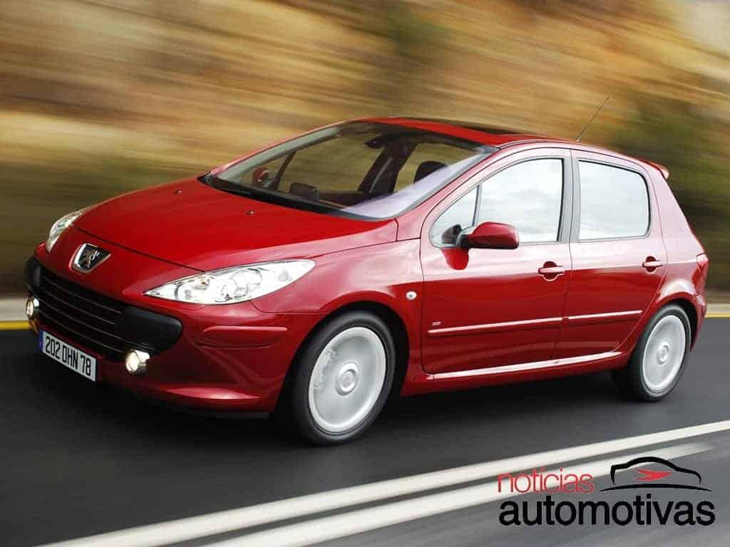 Peugeot 307 - Defeitos e problemas