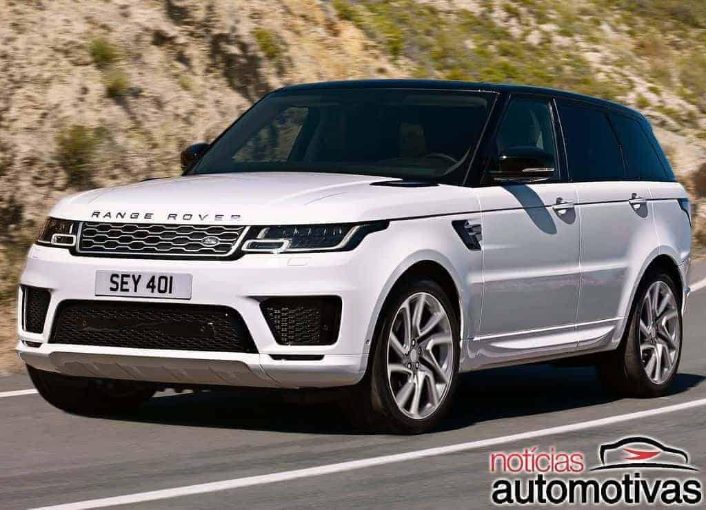 Range Rover Sport 2018 muda o visual e traz inédita versão híbrida plug-in