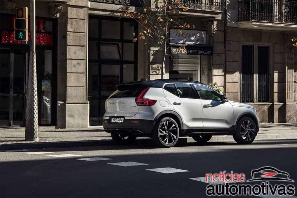 Volvo XC40 elétrico terá central multimídia do Google