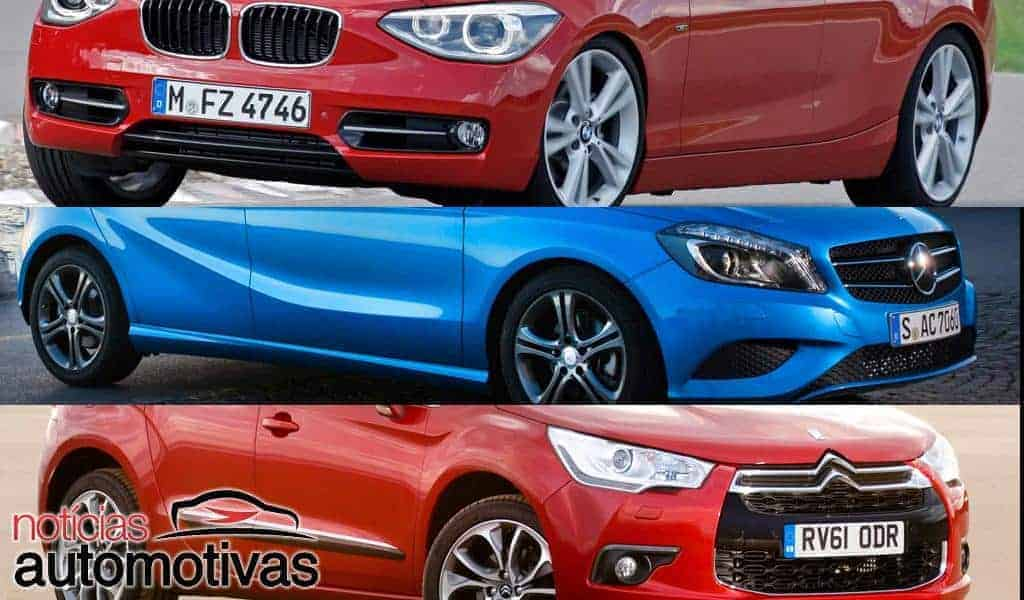 Mercedes-Benz A200 x BMW 118i x Citroen DS4 - Quanto custa mante-los