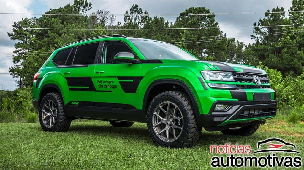 apr transforma suv vw atlas em modelo off road mais potente assobrav
