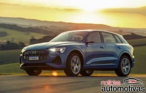 Audi e-tron 2021 tem full LED Digital Matrix e parte de R$ 529.990