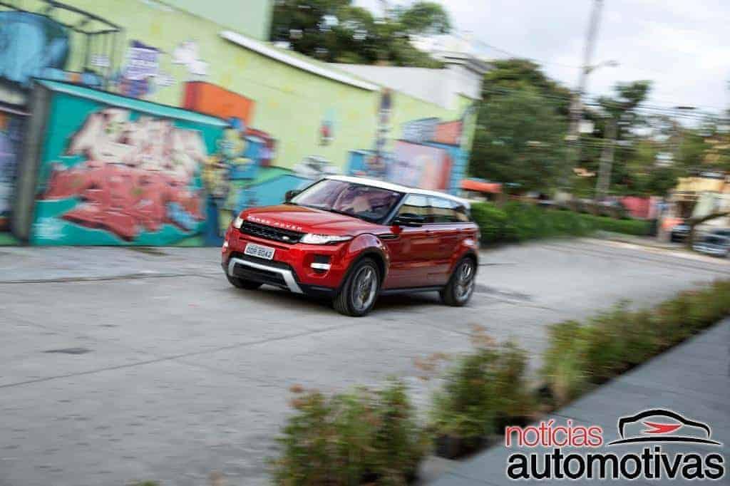 Avaliação NA: Range Rover Evoque