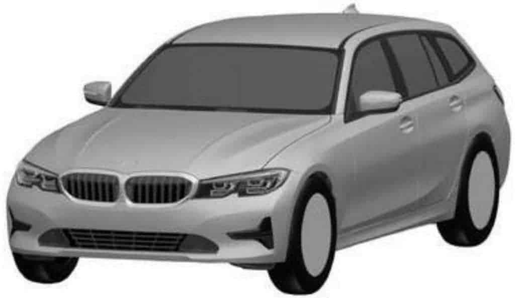Projeção: como será perua do BMW Série 3 2019 revelada em patente