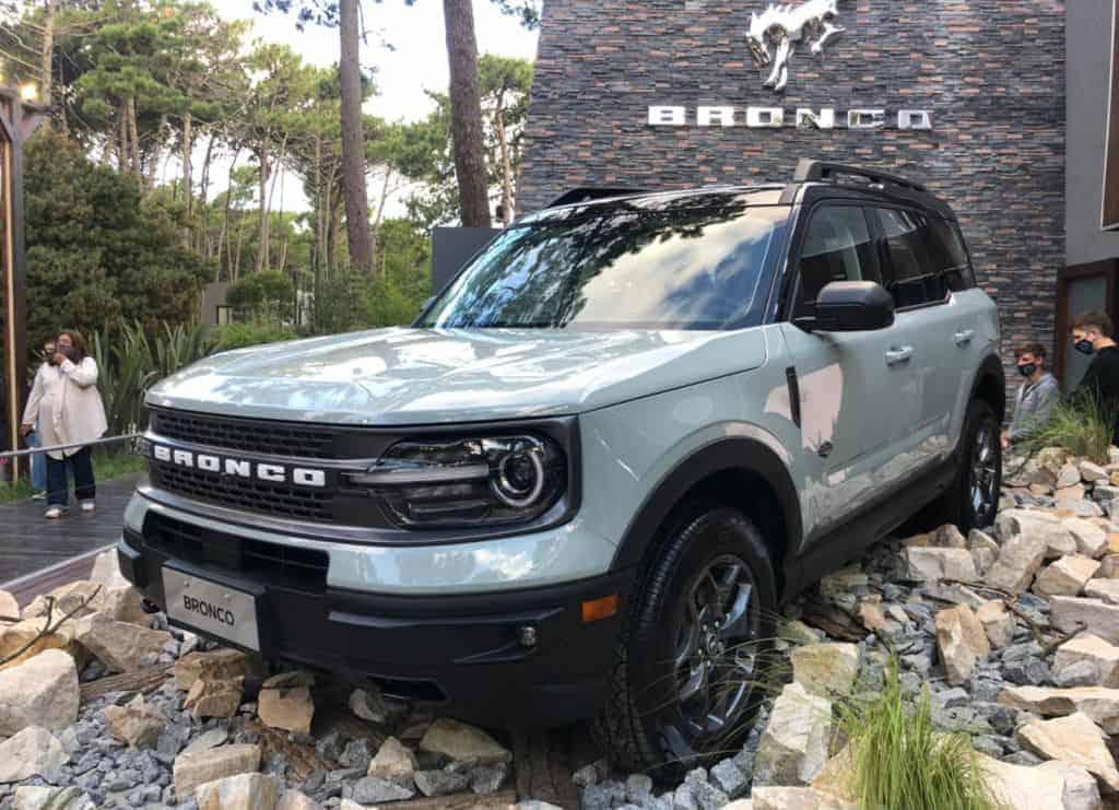 Flagra: Ford Bronco Sport continua chegando, lançamento em maio