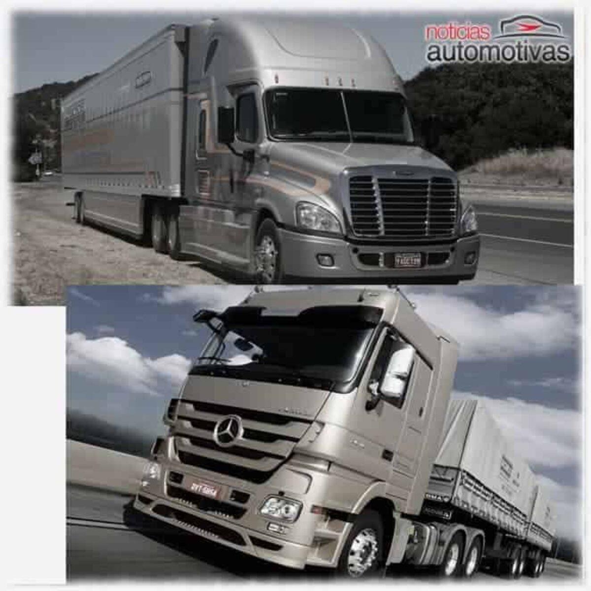 Caminhões Eua X Brasil