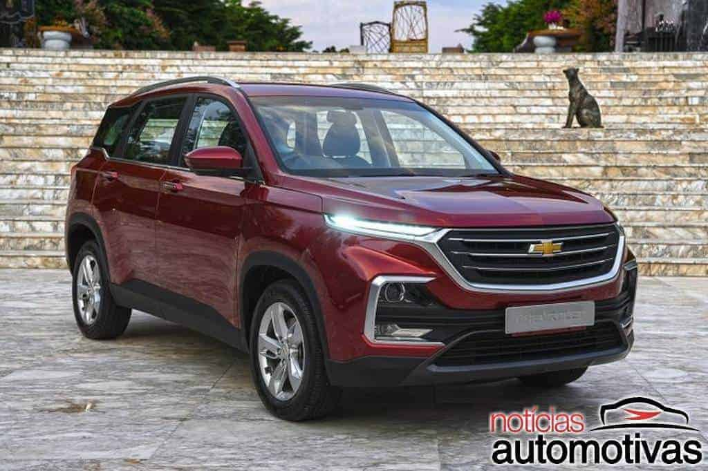 Chevrolet Captiva 2021 chinesa chega ao mercado do Oriente ...