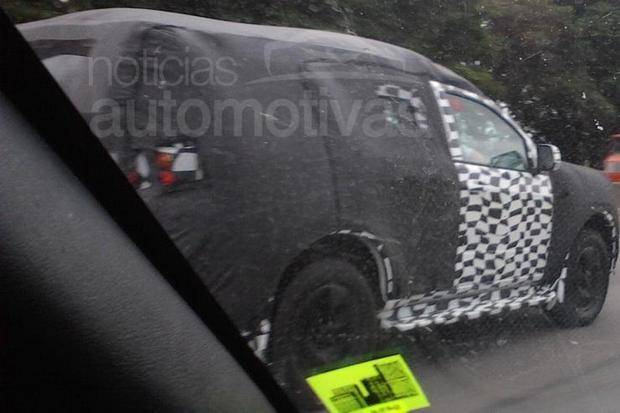 Thread: Spy Photos: The New Chevy Blazer for South America