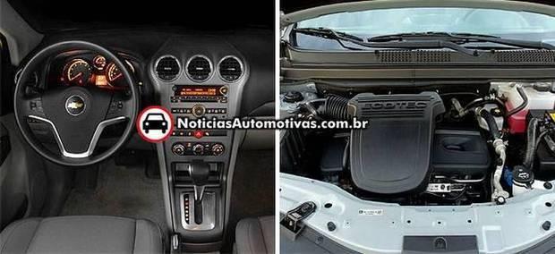 Chevrolet Captiva Ecotec 2.4 x Tucson GLS 2.0: Grandes diferenças!