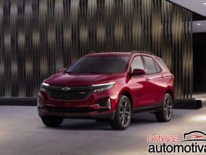 Chevrolet Equinox RS chega com visual expressivo no mercado americano