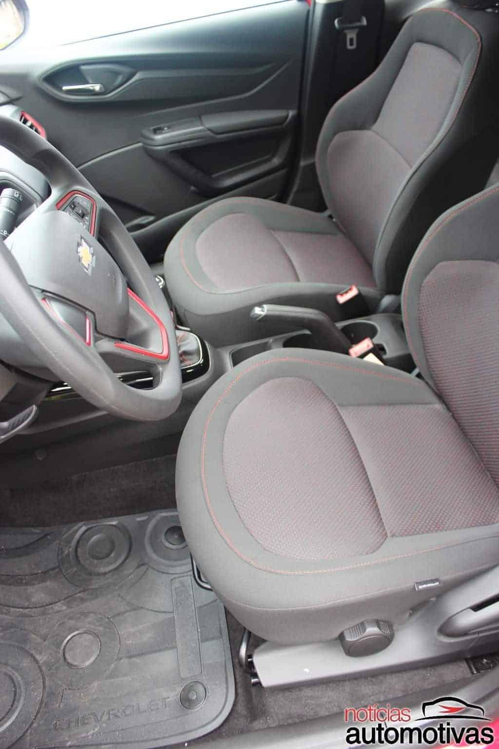 Chevrolet Onix Effect 1.4 tem visual forte e custo/benefício fraco