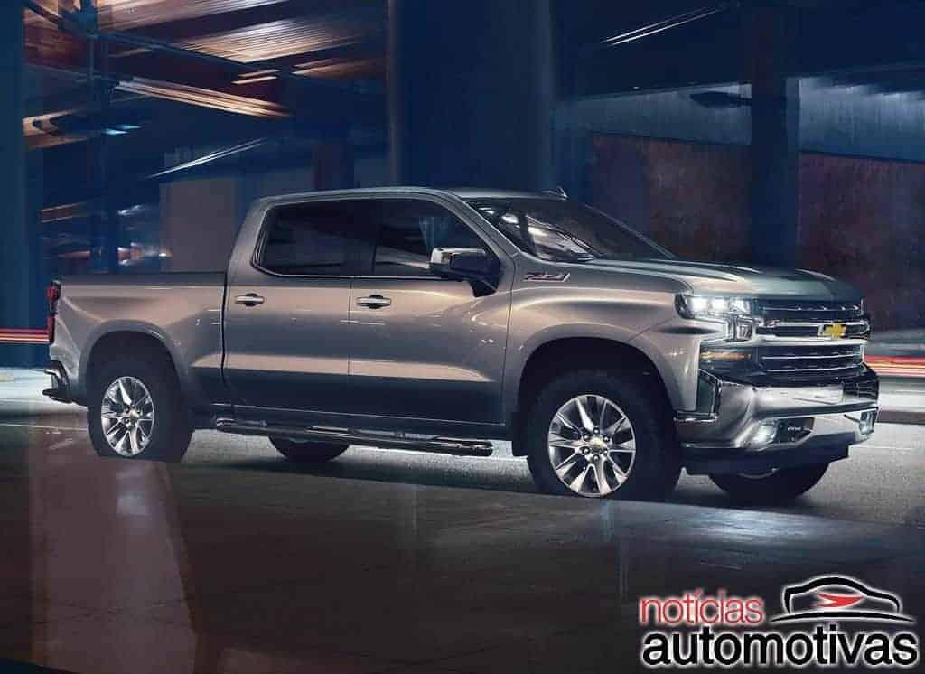 Chevrolet Silverado 2019 chega com motor diesel 3.0 nos EUA