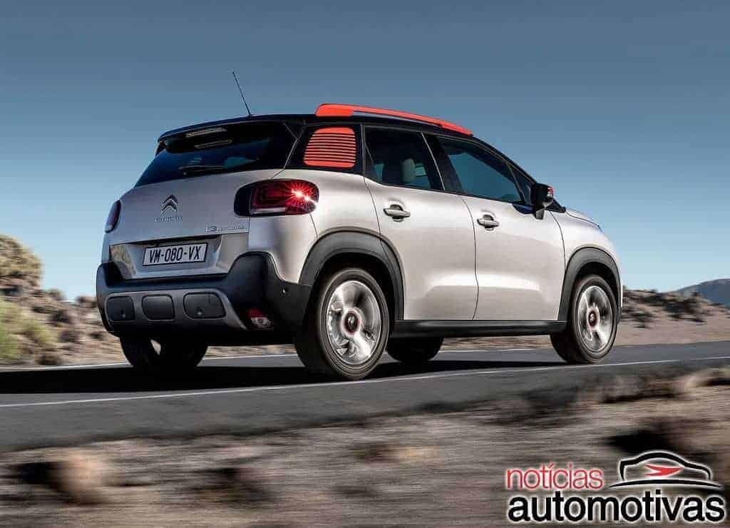 Citroën C3 Aircross 2019 tem patente registrada e deve chegar ao Brasil