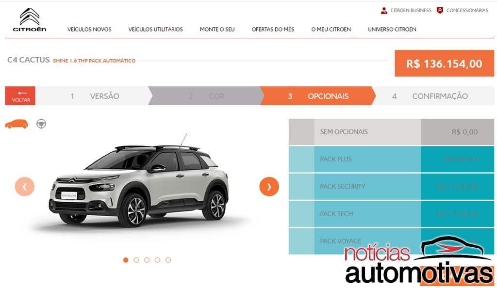 Os preços absurdos de nossos carros 0km com todos os opcionais