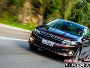 Citroën C4 Lounge está arrumando as malas