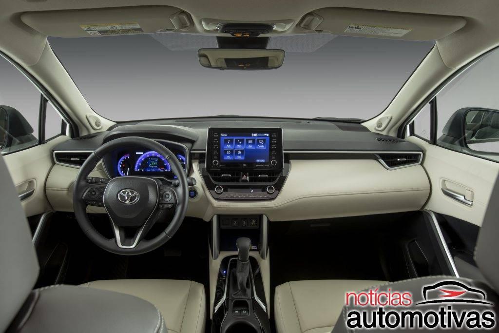 Sem híbrido, Toyota Corolla Cross parte de US$ 22.195 nos EUA