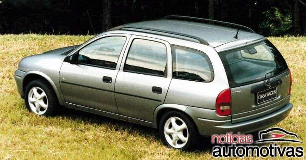 Corsa Wagon: anos, detalhes, motores, versões (e equipamentos)