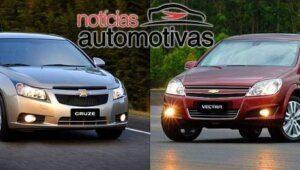 Cruze x Vectra - As diferenças entre os 2 sedãs da Chevrolet