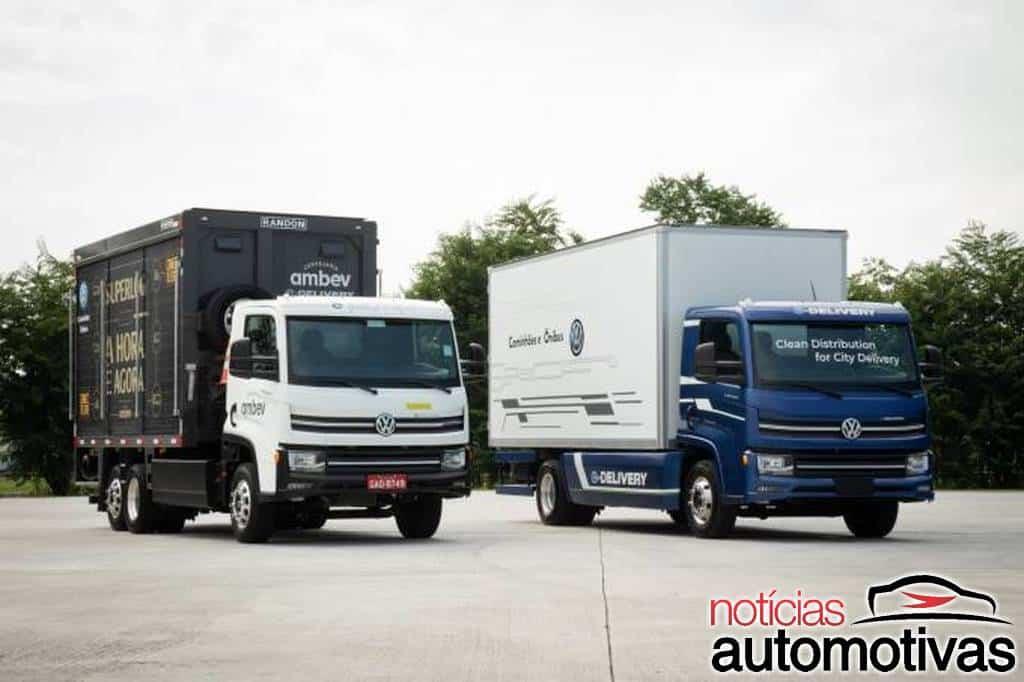 VW projeta vender 4,8 mil unidades por ano do e-Delivery em 2024