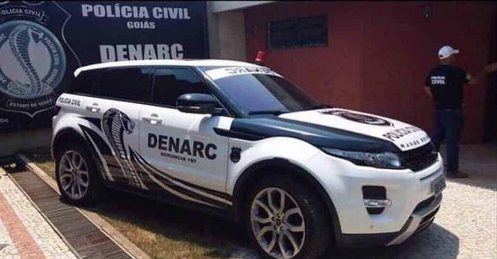 Polícia Civil de Goiás vai de Range Rover Evoque