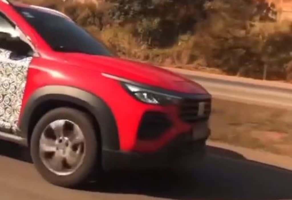 Fiat Pulse já roda quase sem camuflagem pelo Brasil