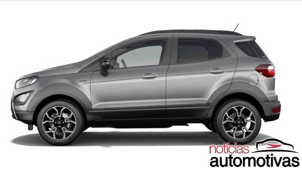 """Ford EcoSport Active é a opção """"Storm"""" para o mercado europeu"""
