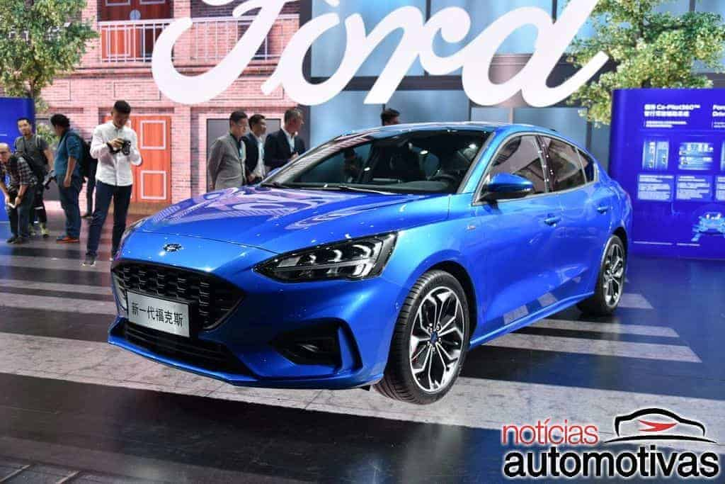 Ford Focus Sedan 2019 foi revelado na China