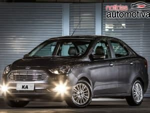 Ford anuncia recall do Ka Hatch, Ka Sedan e EcoSport