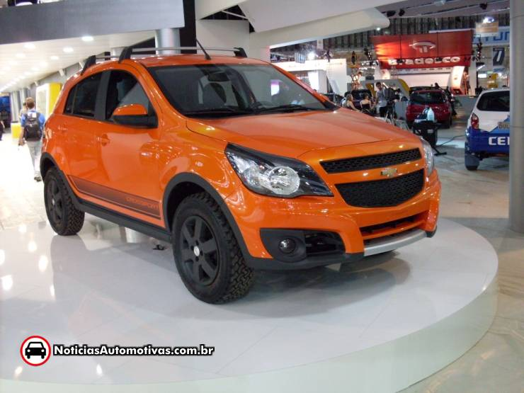Sao Paulo 2010 Chevy Agile Crossport Concept Ford Inside News