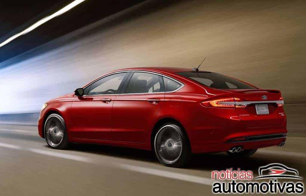 Fusion se aproxima do fim nos EUA e perde versão Sport com motor V6